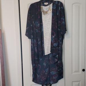 Everly hi-lo Kimono